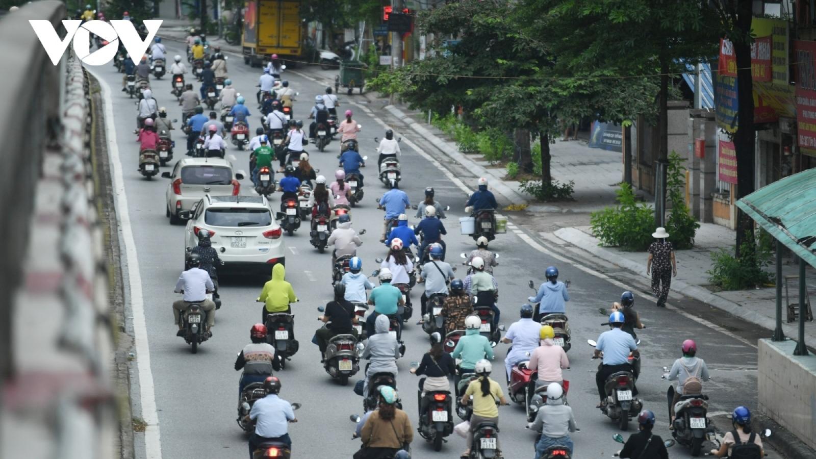 Hanoi eases social distancing from September 21