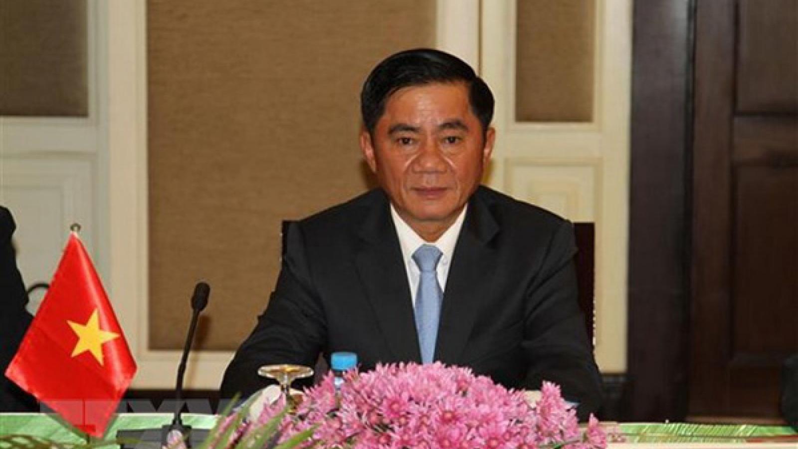 Chủ nhiệm Uỷ ban Kiểm tra Trung ương điện đàm với Bí thư Ủy ban Kiểm tra Trung Quốc
