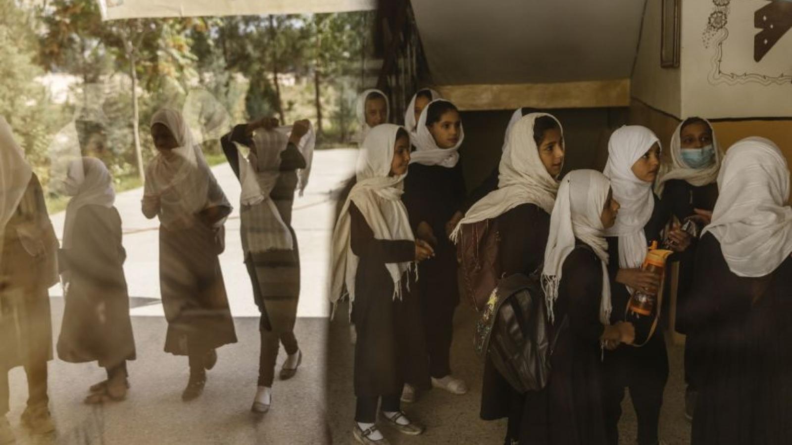 Taliban sẽ sớm cho các trẻ em gái trở lại trường học