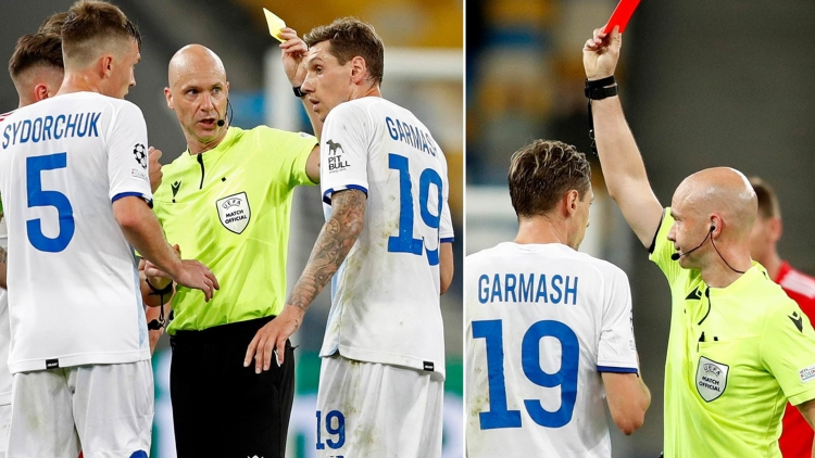 Hy hữu: Trọng tài rút nhầm thẻ đỏ tại Champions League