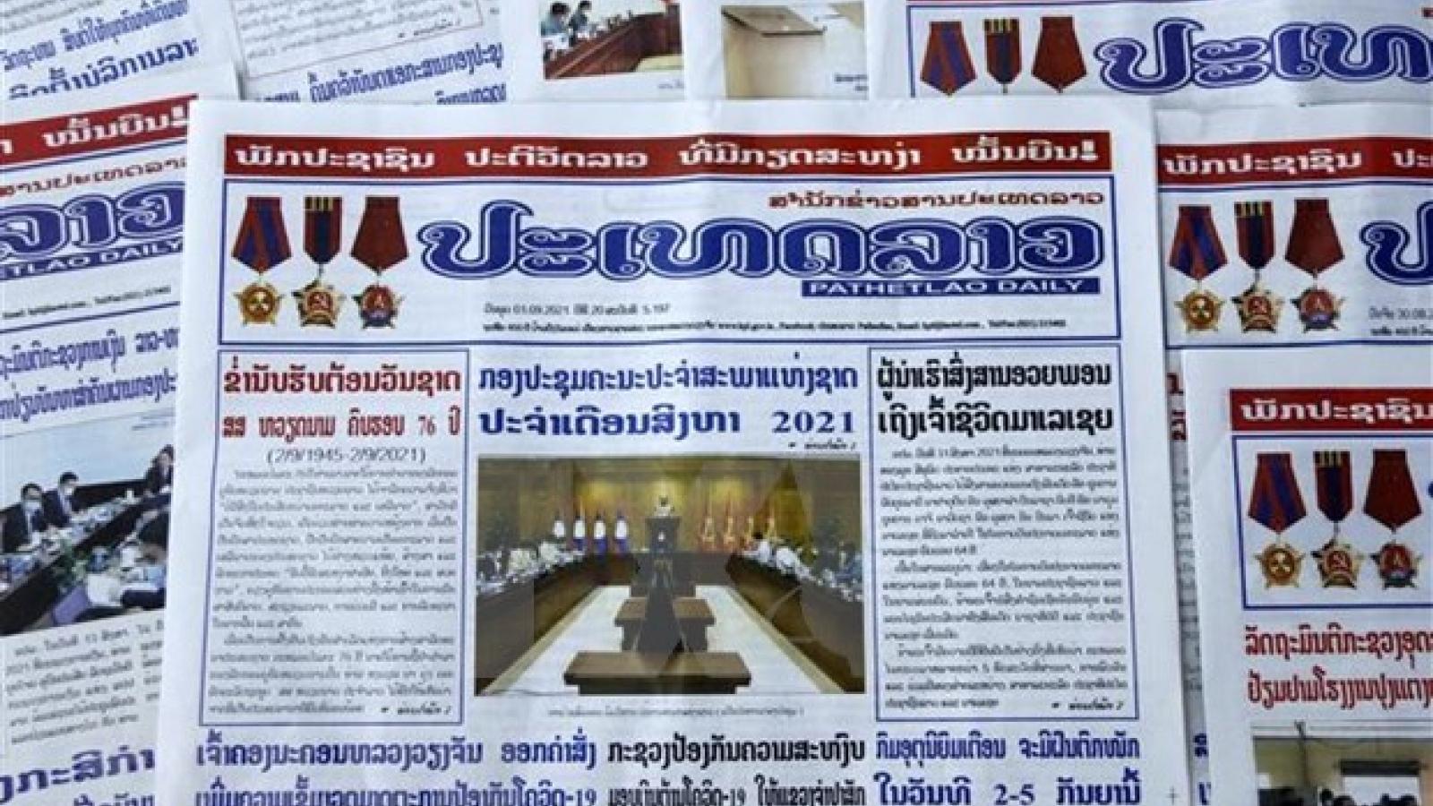 Lao newspaper hails Vietnam's achievements, Laos-Vietnam ties