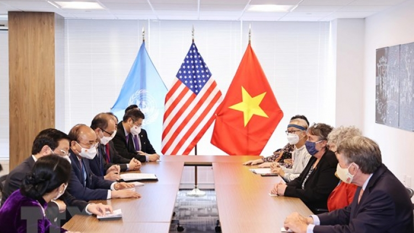 Chủ tịch nước tiếp bạn bè Hoa Kỳ nhân kỷ niệm 60 năm thảm họa da cam ở Việt Nam
