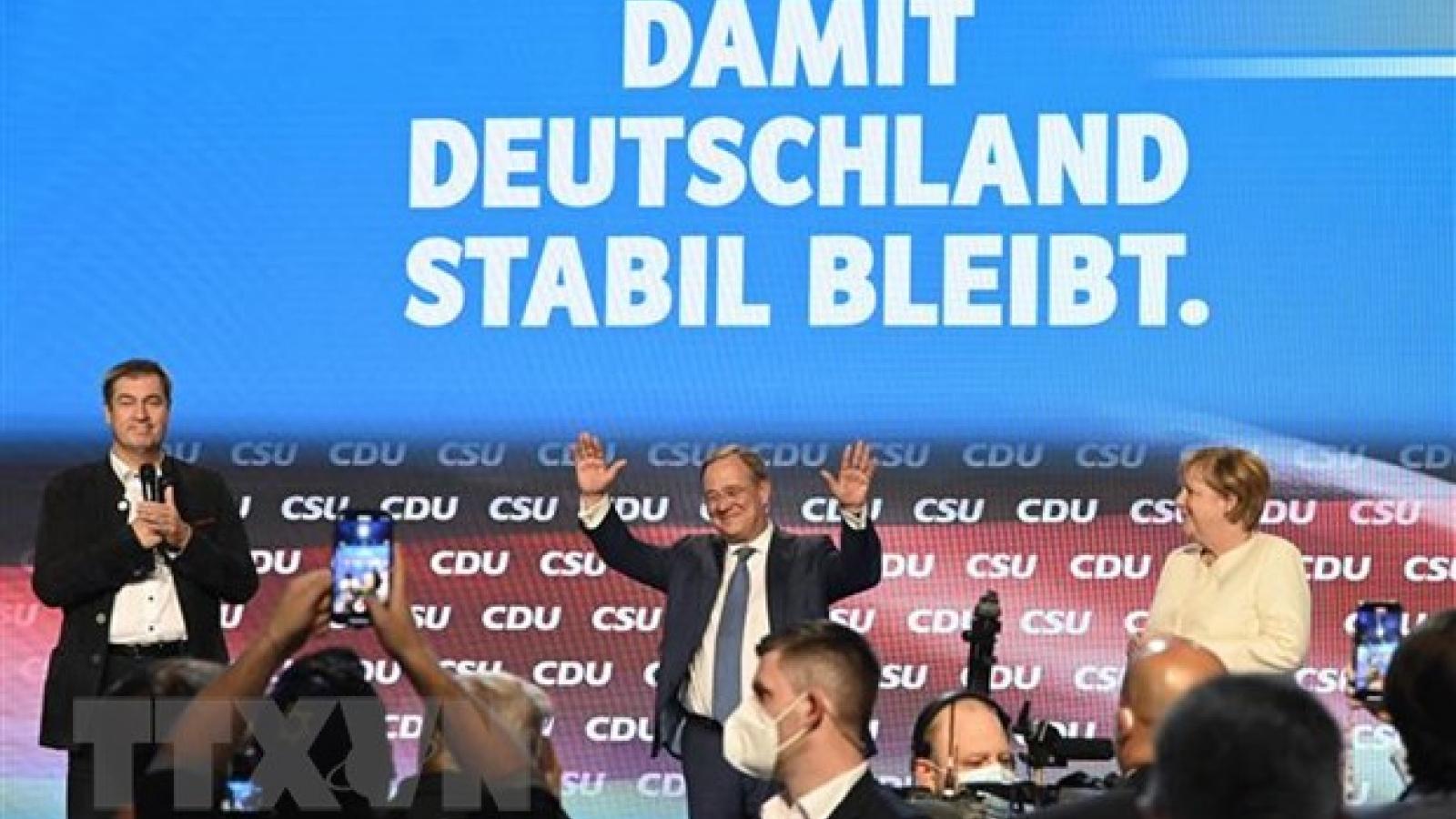 Bầu cử Đức: Cả SPD và CDU đều tự tin chiến thắng