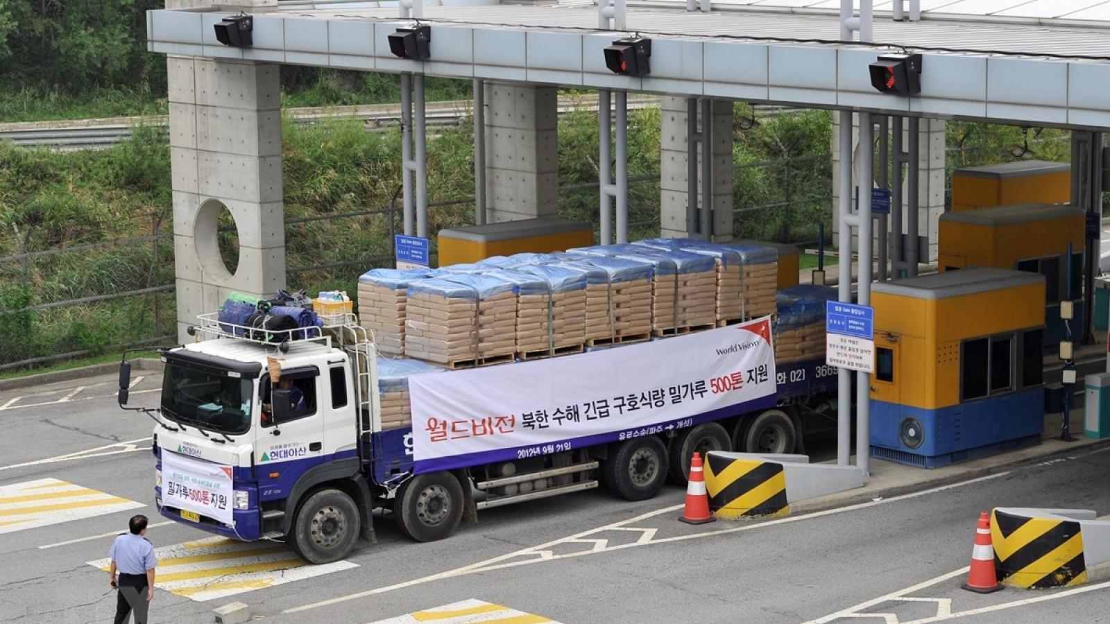Hàn Quốc chi 8,5 triệu USD hỗ trợ y tế và dinh dưỡng cho Triều Tiên