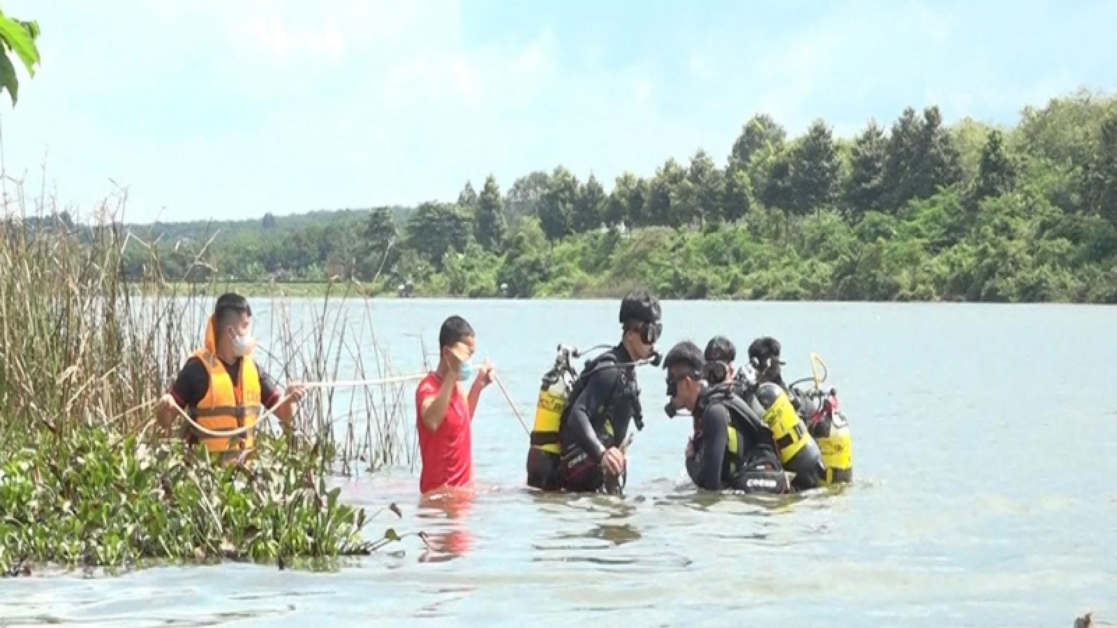 Lật xuồng khi đang đánh cá, một người đàn ông ở Bình Phước tử vong