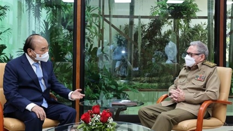 President reaffirms consistent Vietnamese solidarity and support for Cuba