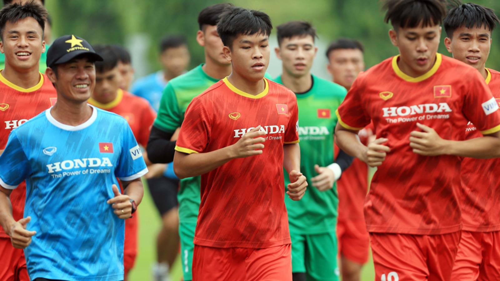 Cầu thủ U22 Việt Nam nói điều bất ngờ sau trận đấu với ĐT Việt Nam