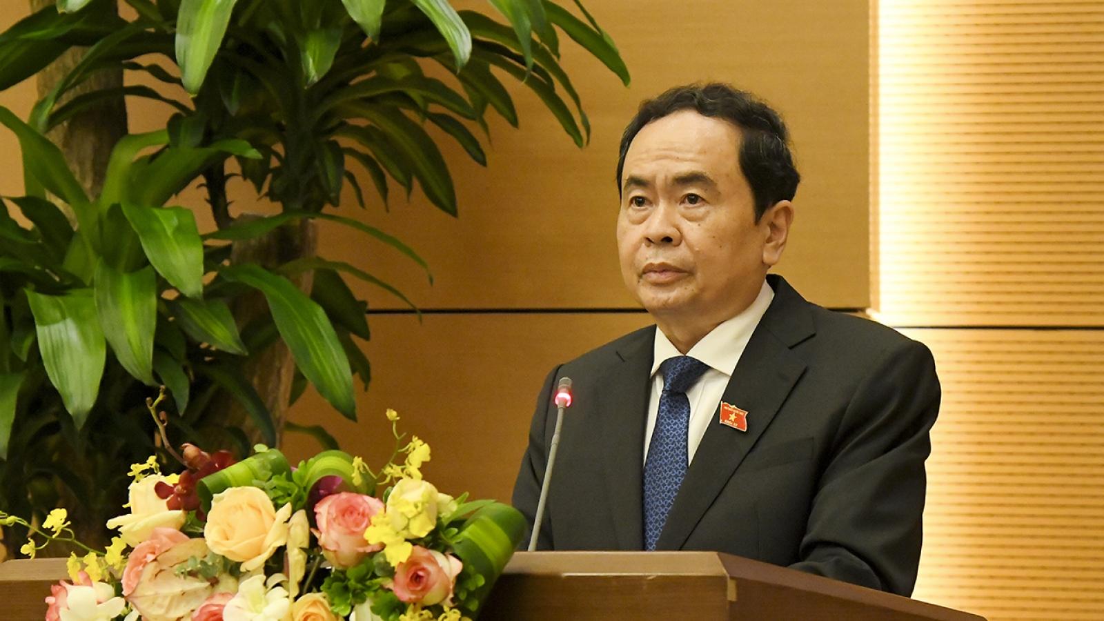 Ông Trần Thanh Mẫn chủ trì phiên họp Đổi mới hiệu quả kỳ họp Quốc hội