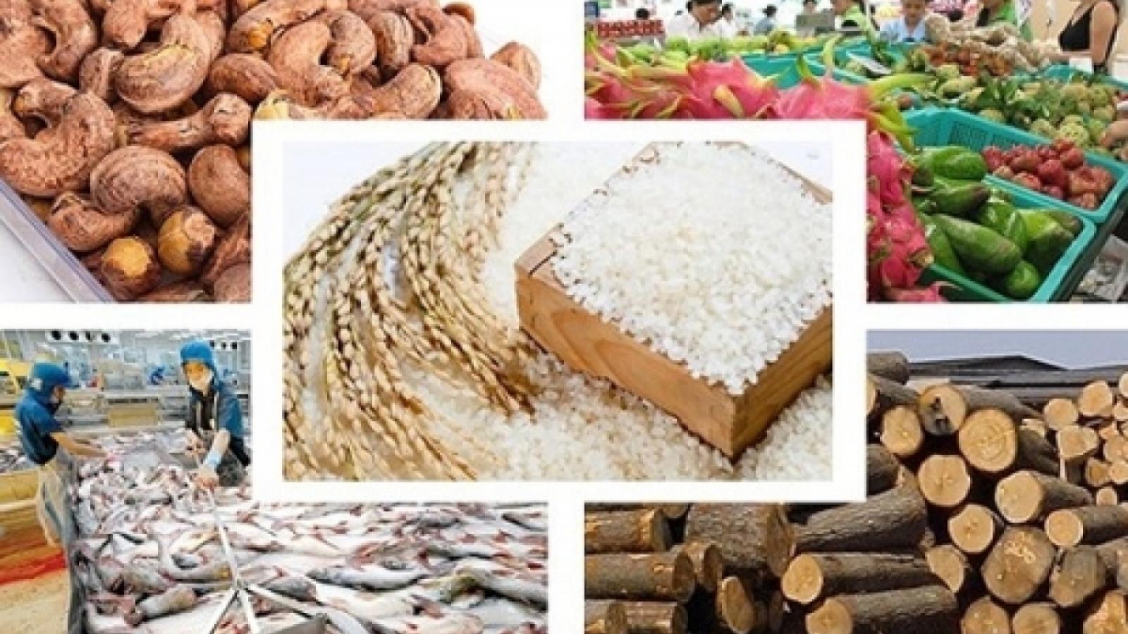 Farm produce exports enjoy US$3.3 bln trade surplus