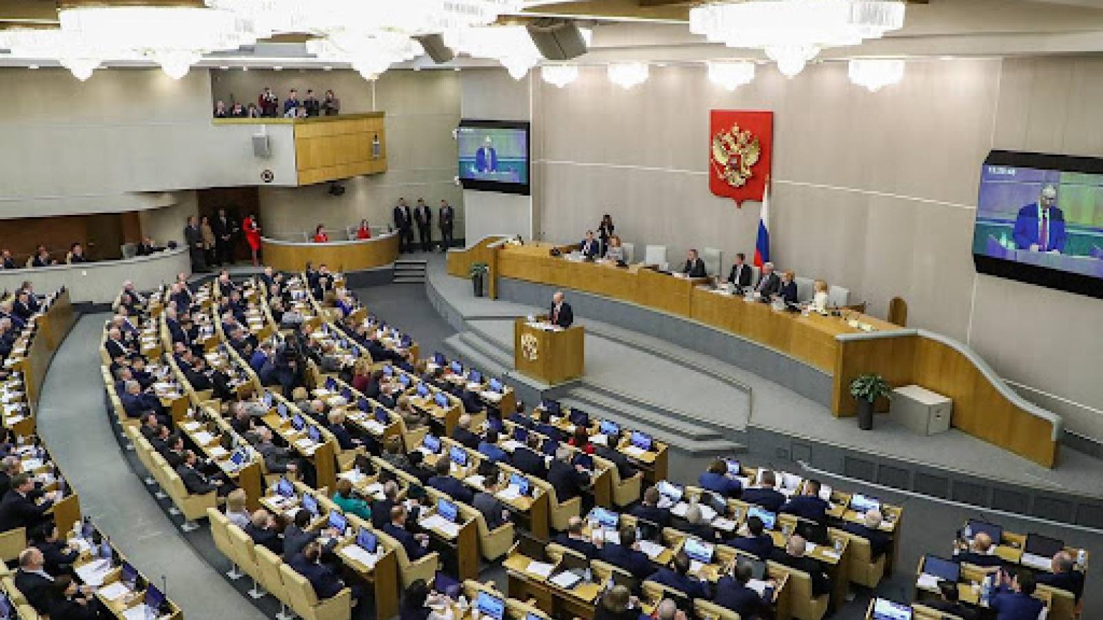 Dư luận Nga trước dự định của Nghị viện châu Âu không công nhận kết quả bầu cử vào Duma