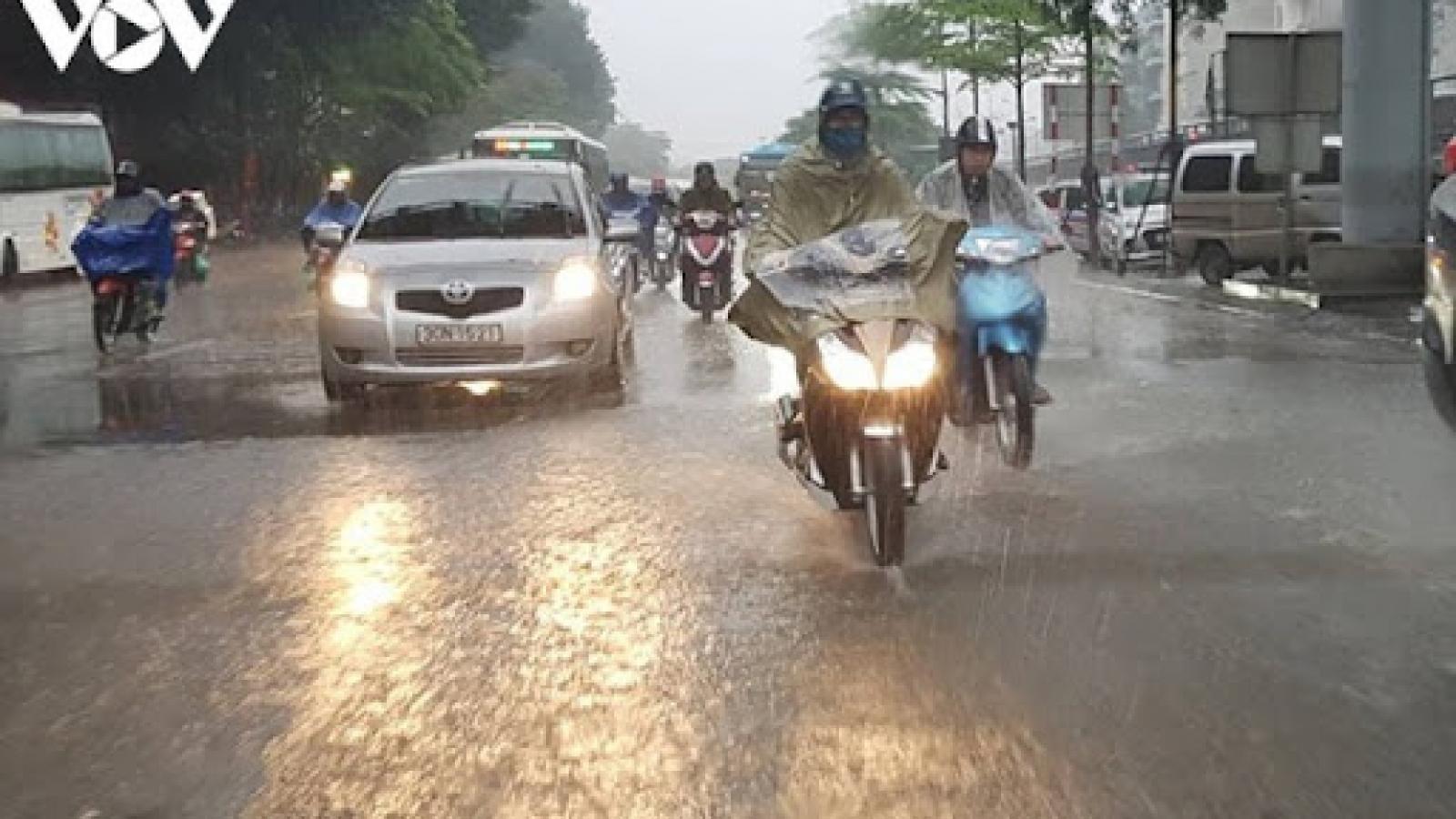 Thời tiết ngày và đêm 18/9: Miền Bắc mưa rào; miền Nam ngày nắng, đêm mưa