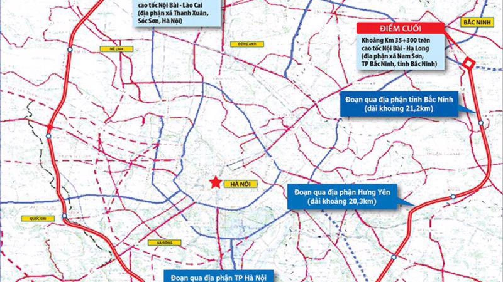 Hà Nội: Đồng ý chủ trương xây dựng đường vành đai 4- vùng Thủ đô
