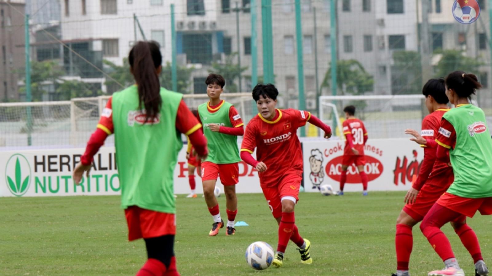 ĐT nữ Việt Nam nhận tin vui trên hành trình đến World Cup nữ 2023