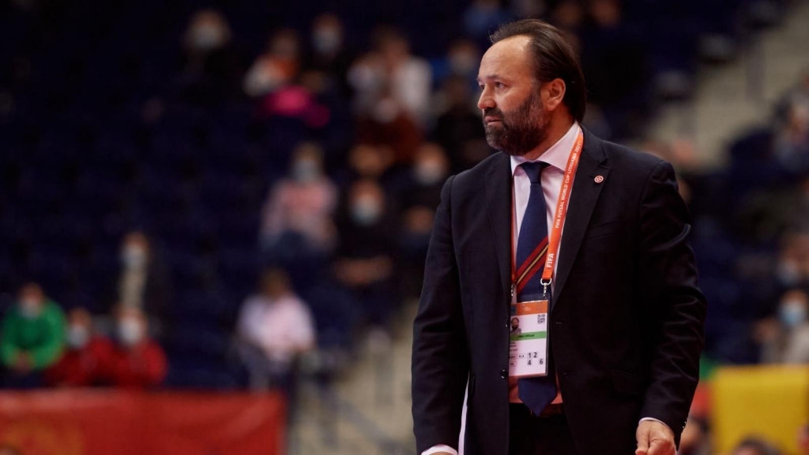 """HLV ĐT Futsal Tây Ban Nha: """"Công nghệ VS ở Futsal World Cup không có tác dụng"""""""