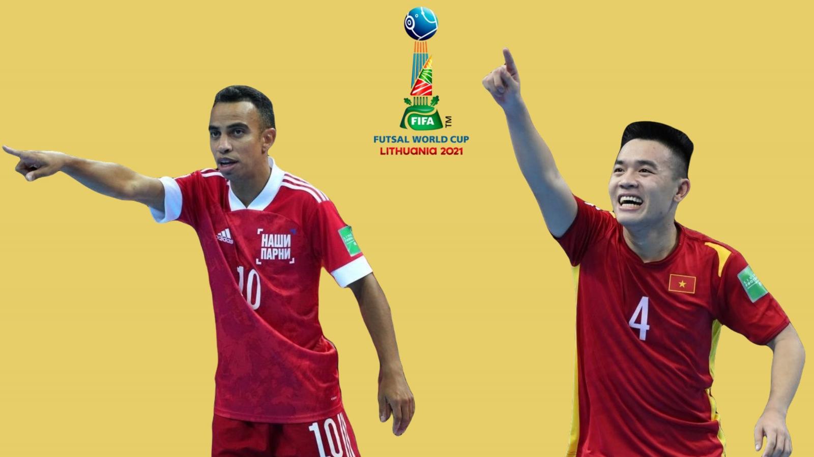 ĐT Futsal Việt Nam - ĐT Futsal Nga: Chinh phục đỉnh cao