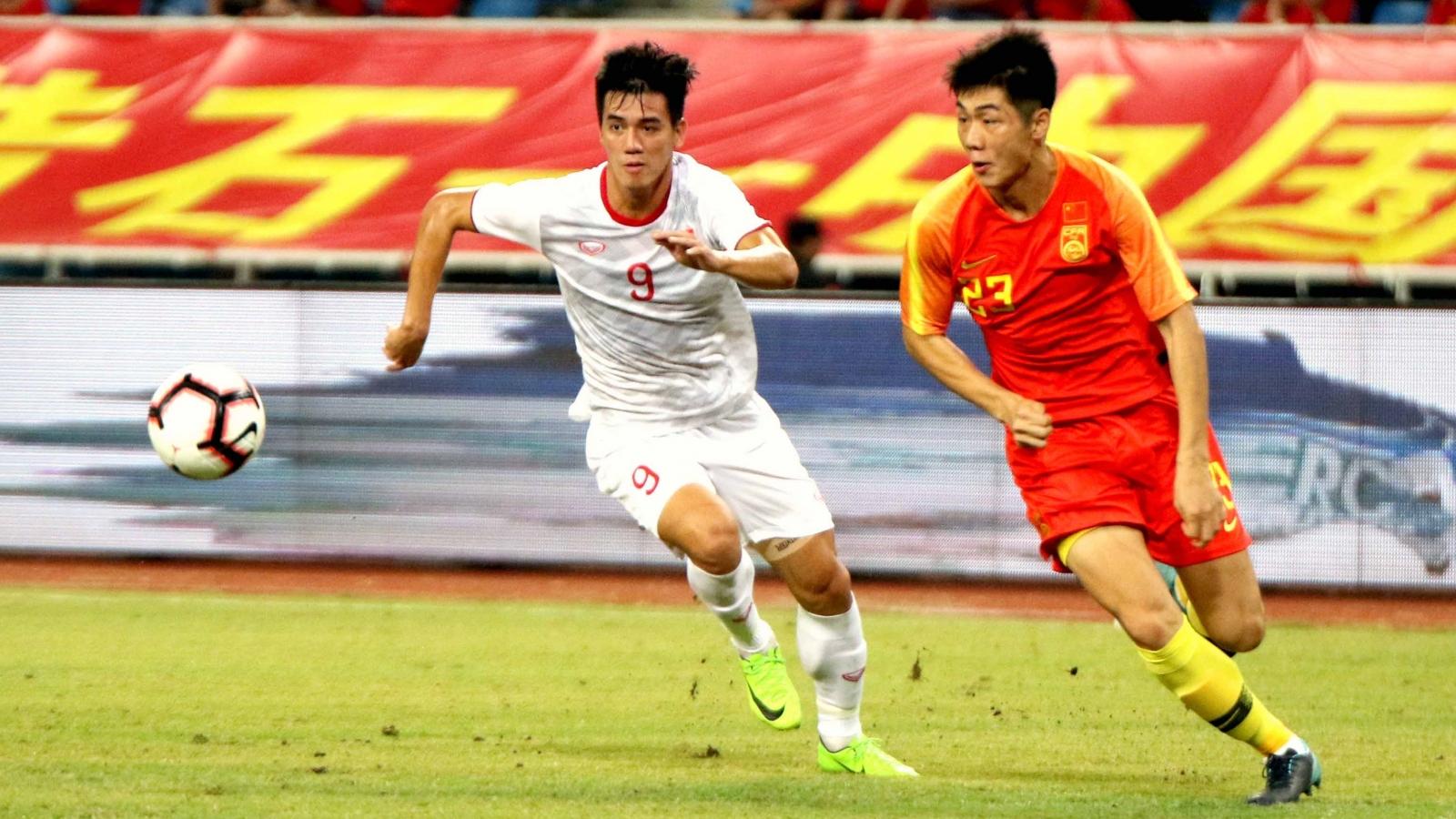 ĐT Việt Nam sẽ thi đấu với ĐT Trung Quốc ở UAE