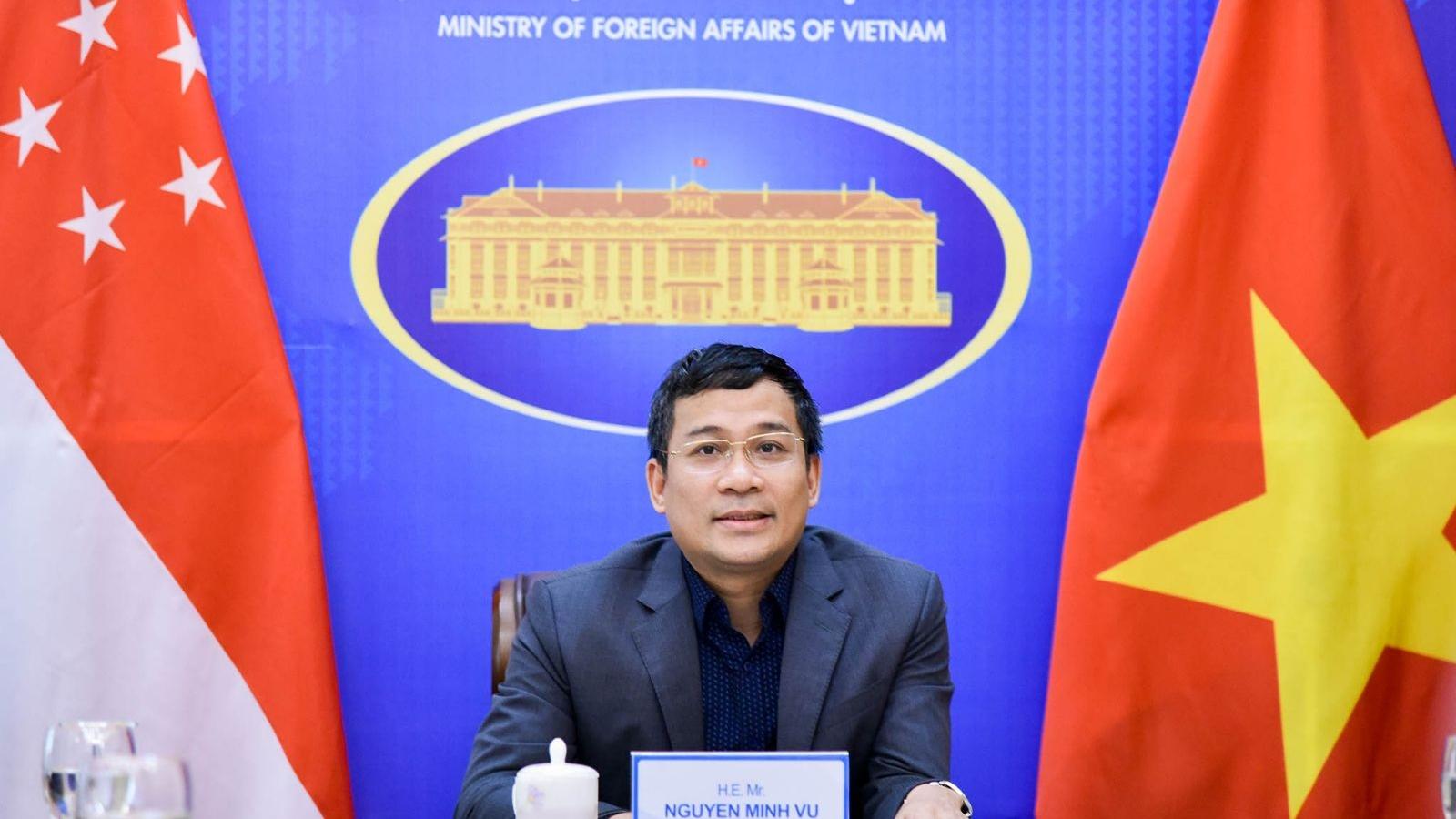 Việt Nam mong Singapore hỗ trợ hoặc nhượng vaccine Covid-19 sớm nhất có thể