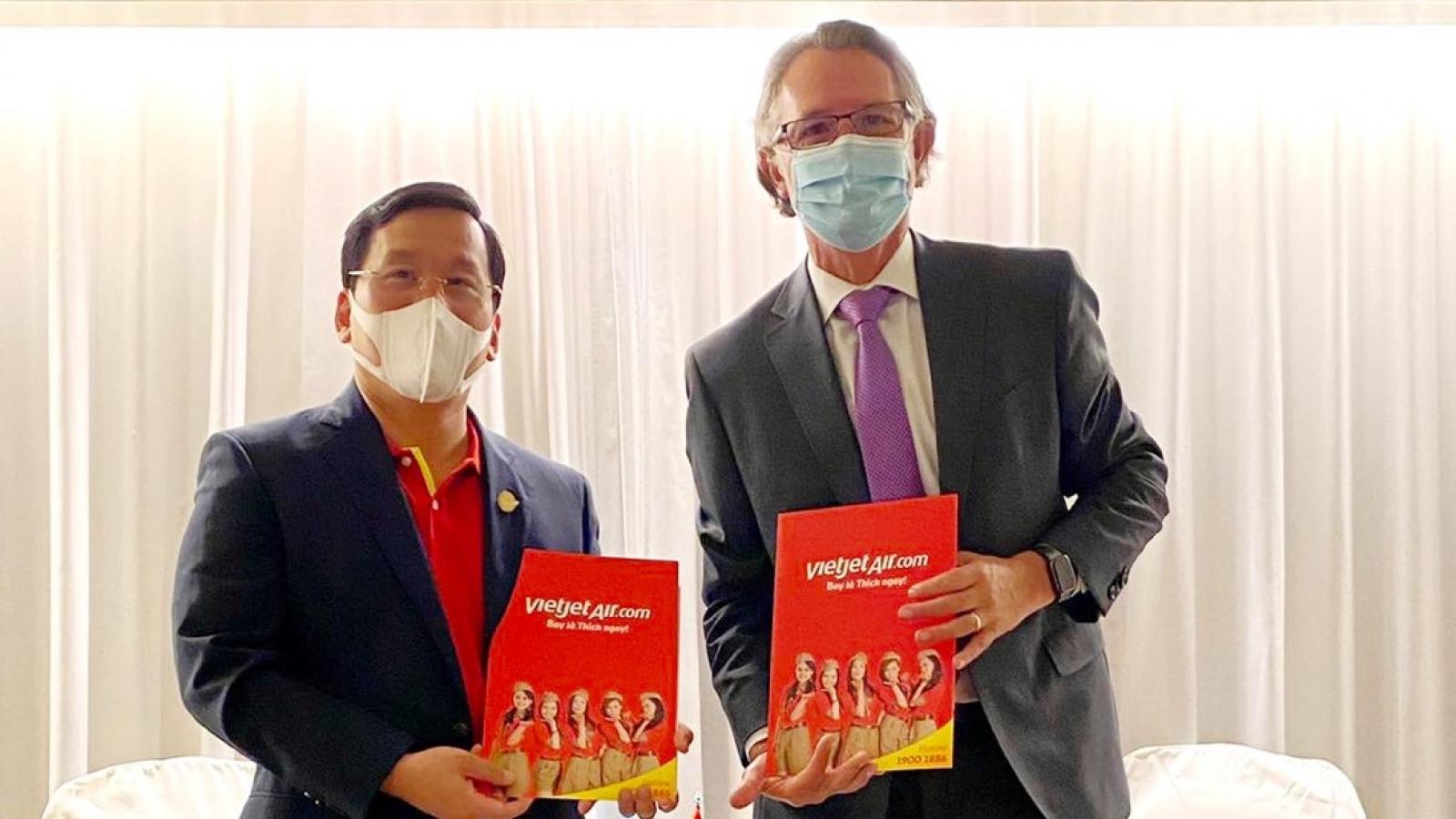 CFM International và Vietjet Air nâng tổng trị giá hợp tác chiến lược lên 18,5 tỷ USD