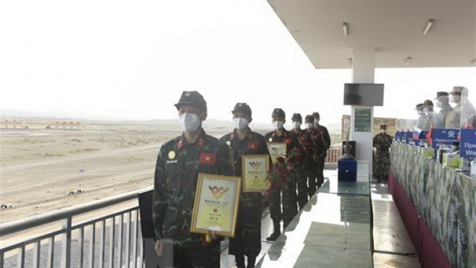 Vietnam ranks 7th at International Army Games 2021