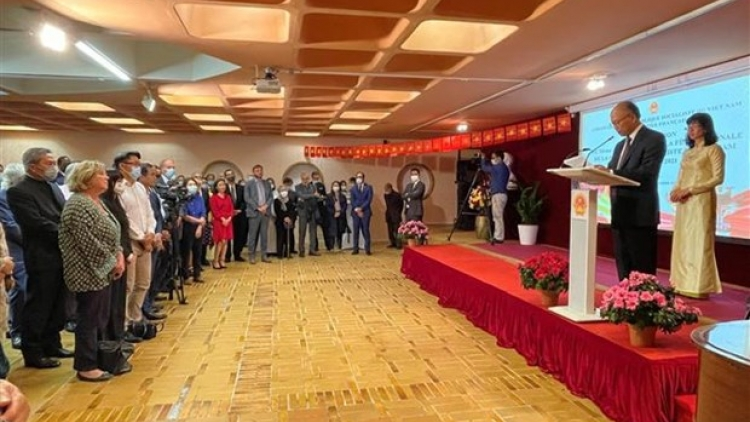 Embassy marks series of Vietnamese events in France