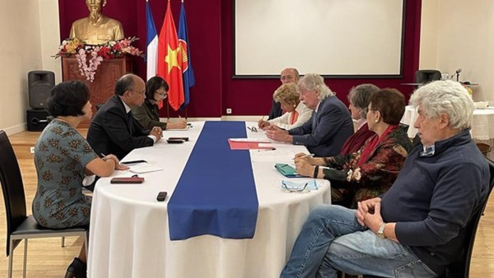 Association hailed for helping strengthen Vietnam-France friendship