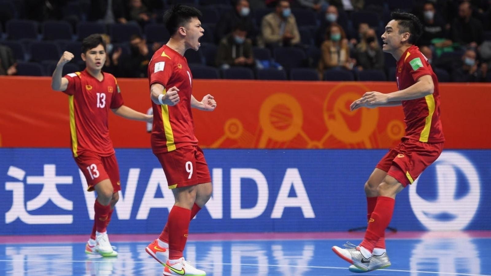 Thua sát nút ĐT Nga, ĐT Futsal Việt Nam rời World Cup trong thế ngẩng cao đầu