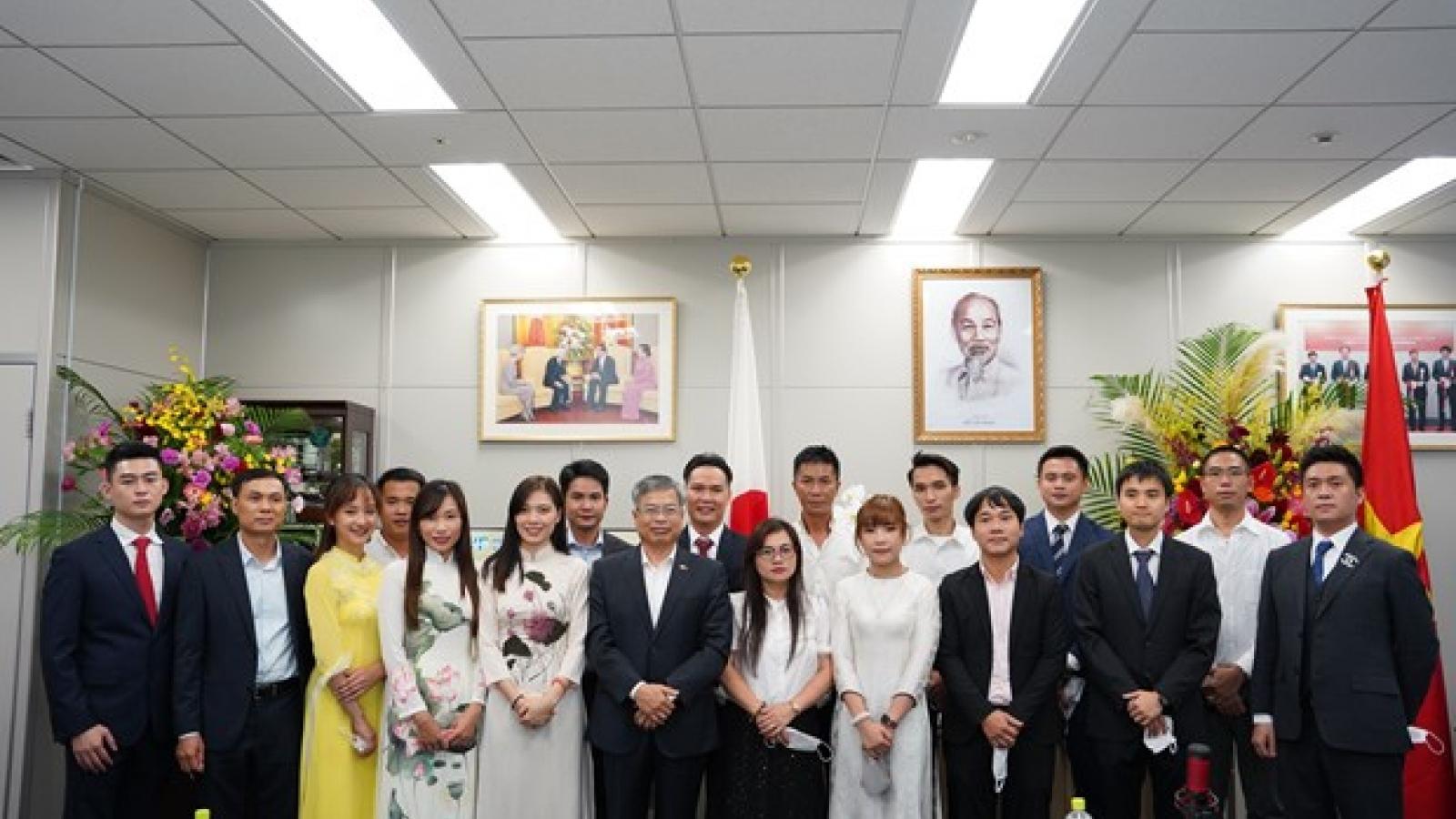 Association of Vietnamese in Fukuoka holds second congress