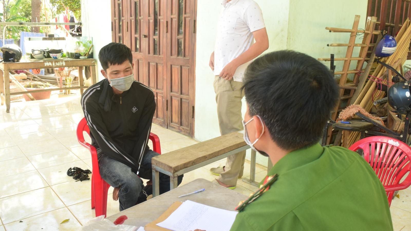 Bắt đối tượng tàng trữ 3.000 viên hồng phiến tại Thừa Thiên Huế