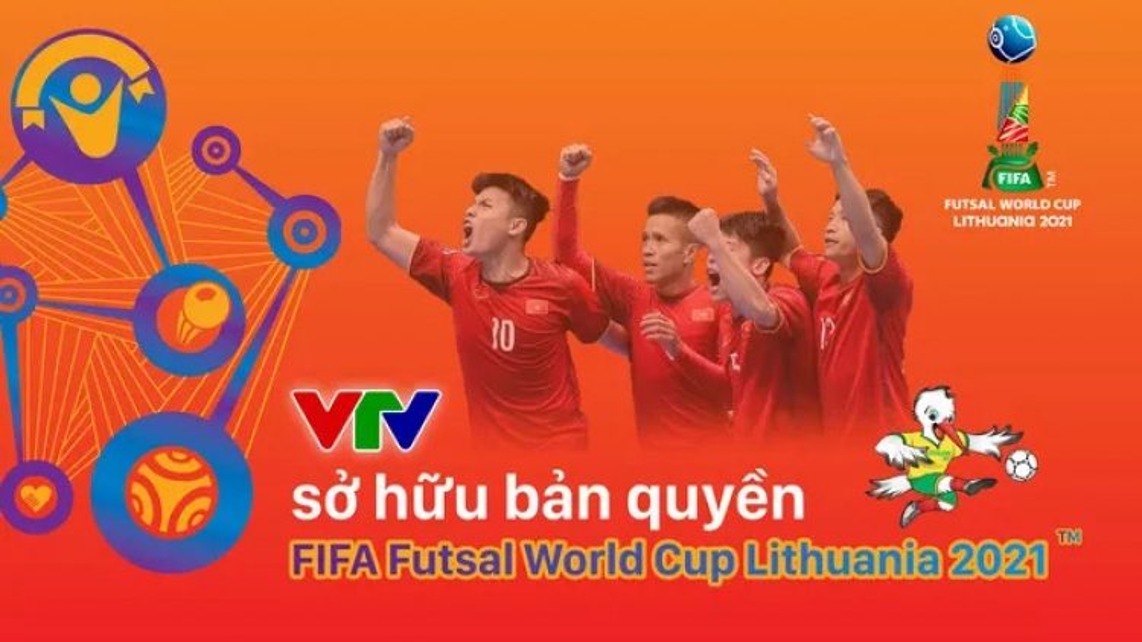 Người hâm mộ Việt Nam được xem miễn phí VCK FIFA Futsal World Cup 2021