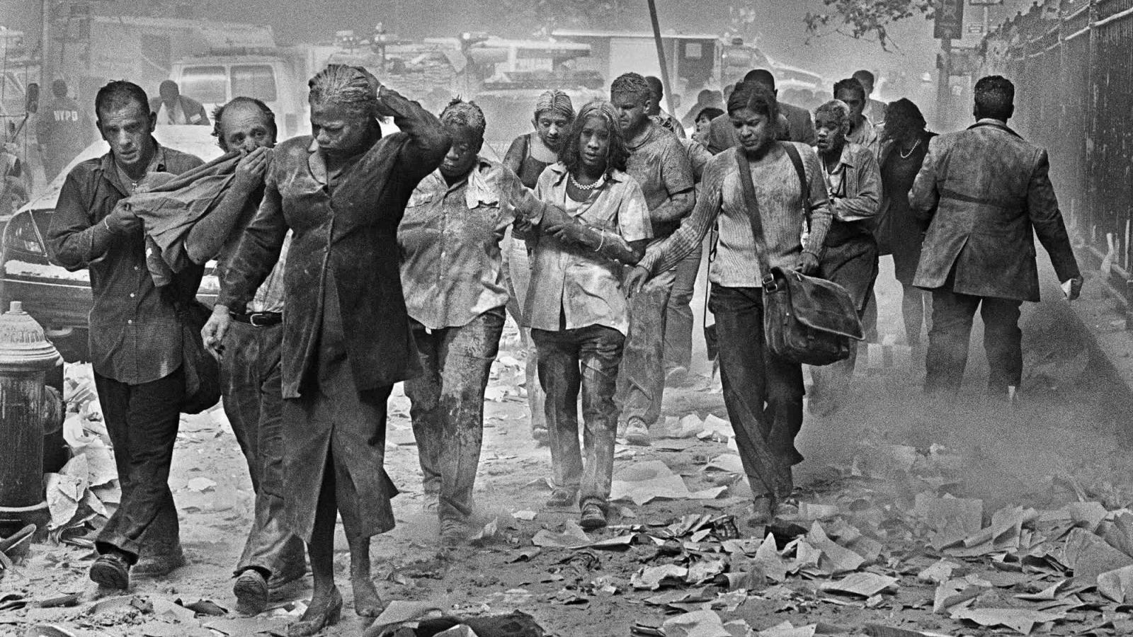 Những hình ảnh không thể quên về vụ khủng bố 11/9