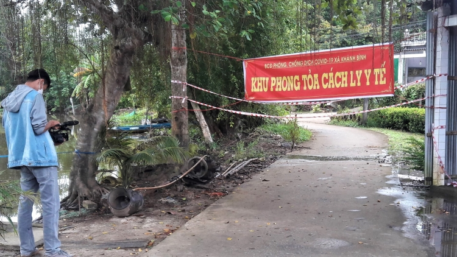 Khởi tố vụ án làm lây lan dịch bệnh xảy ra tại huyện Trần Văn Thời, Cà Mau