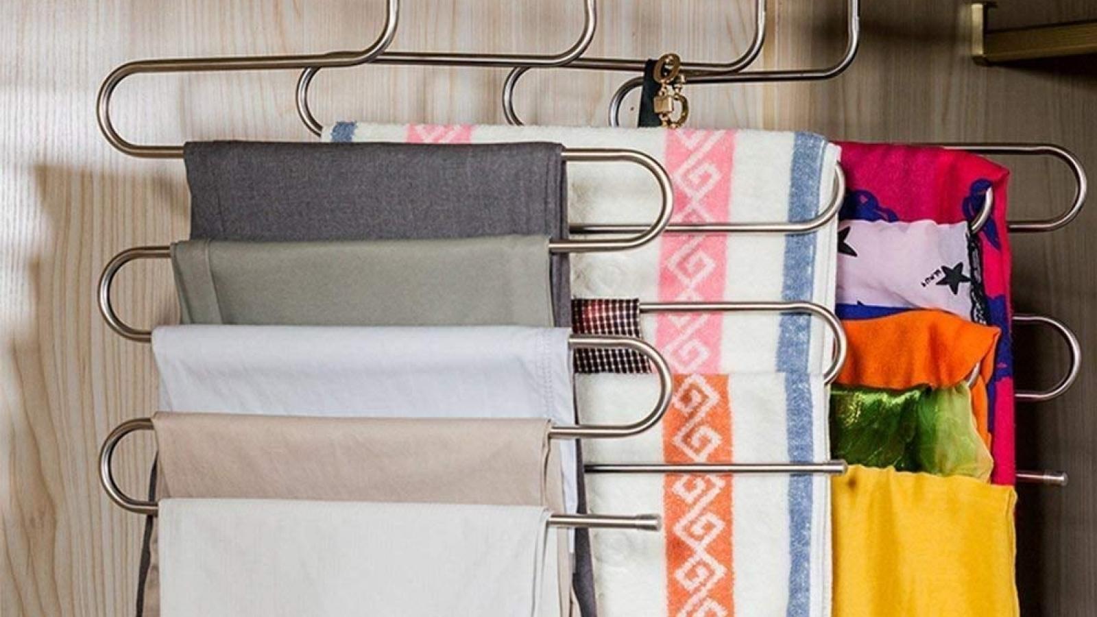 Tủ quần áo sẽ luôn gọn gàng, sạch sẽ nhờ các sản phẩm tiện dụng này