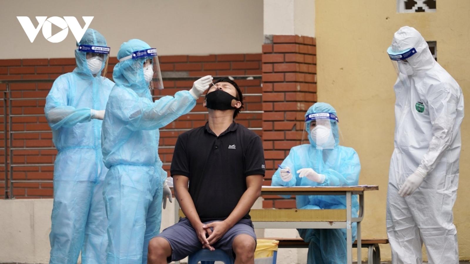 Hà Nội ghi nhận 8 ca mắc Covid-19 mới, 1 ca cộng đồng tại quận Thanh Xuân
