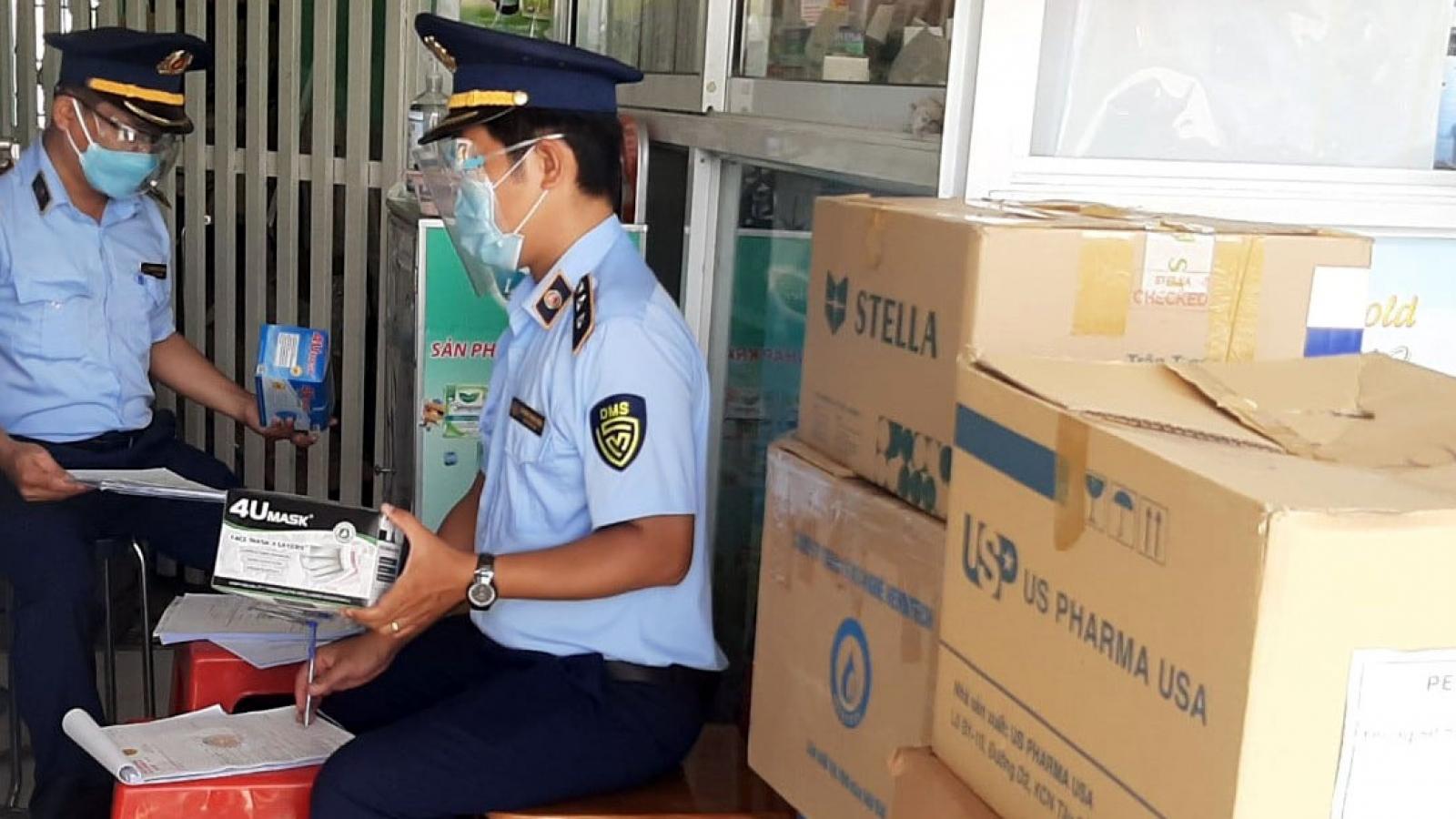 Phát hiện gần 2.000 chai phân bón lá không được phép lưu hành