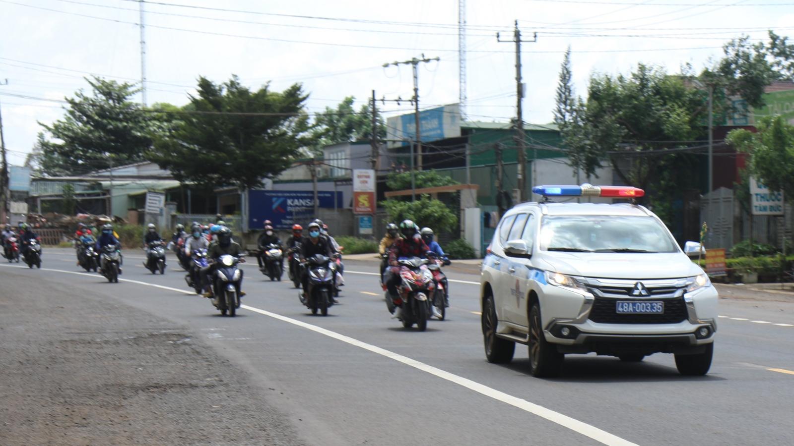 Cục Cảnh sát giao thông: Đảm bảo trật tự an toàn giao thông phục vụ mục tiêu kép
