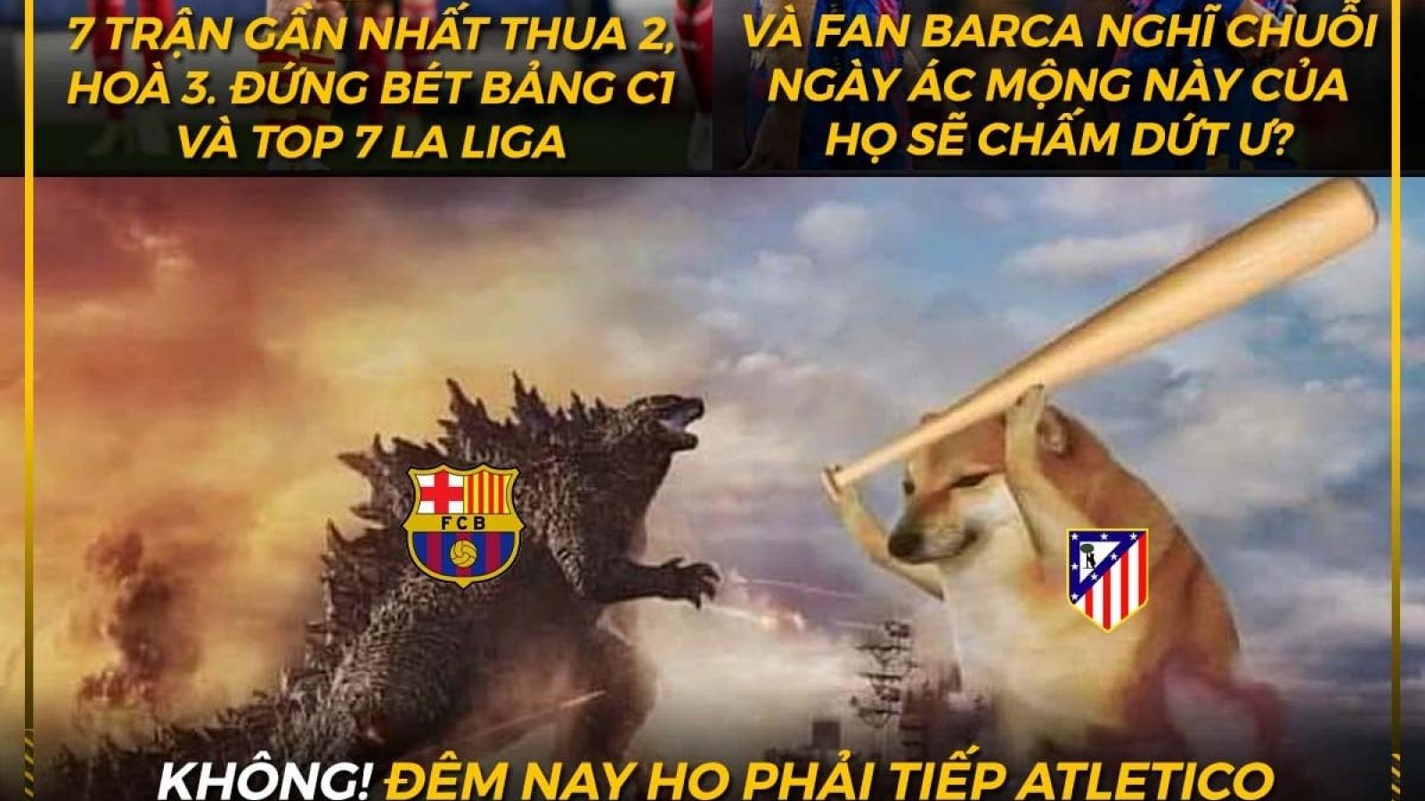"""Biếm họa 24h: Chuỗi ngày """"ác mộng"""" của Barca tiếp tục nối dài?"""