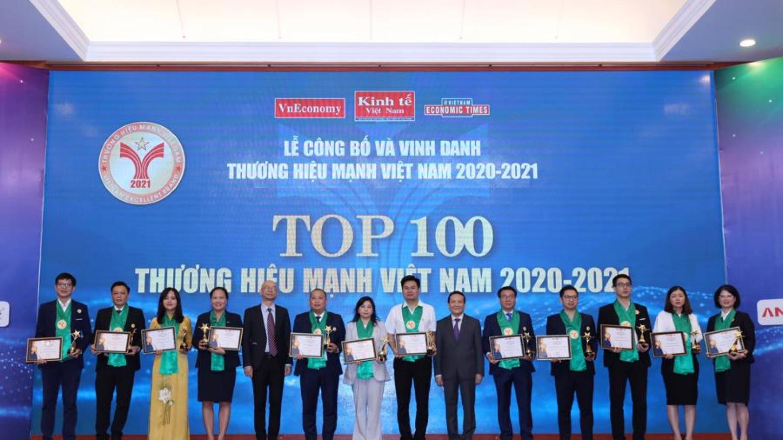 Top 109 Vietnamese strong brands 2021 announced
