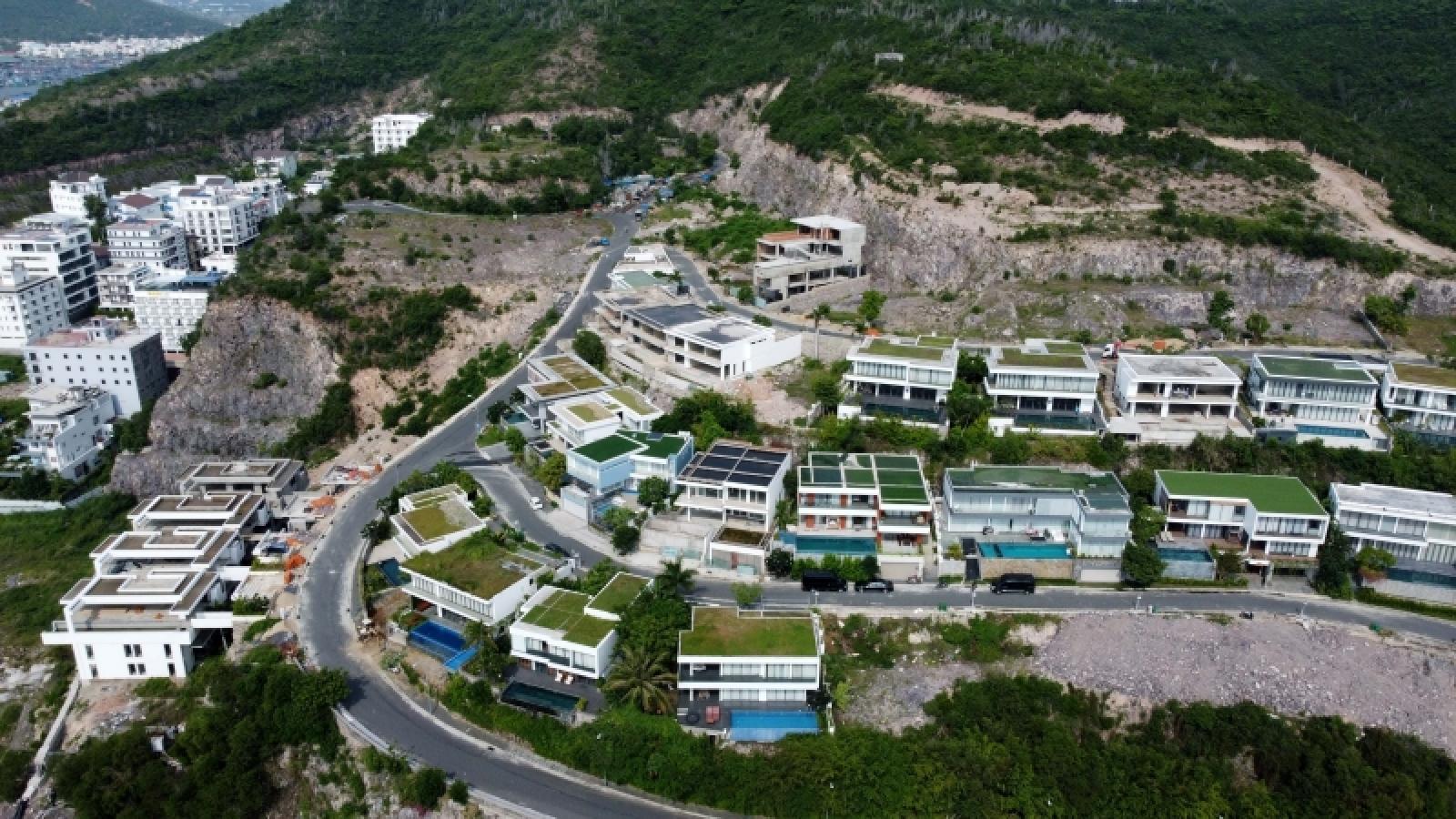 Khánh Hòa chưa cho dự án đào núi làm biệt thự điều chỉnh quy mô