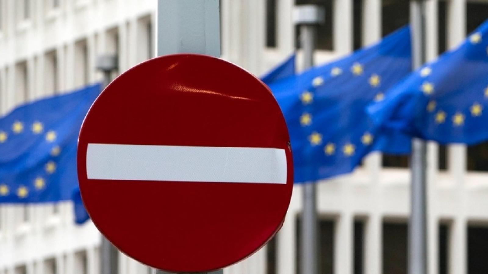 EU mở rộng danh sách trừng phạt chống Nga