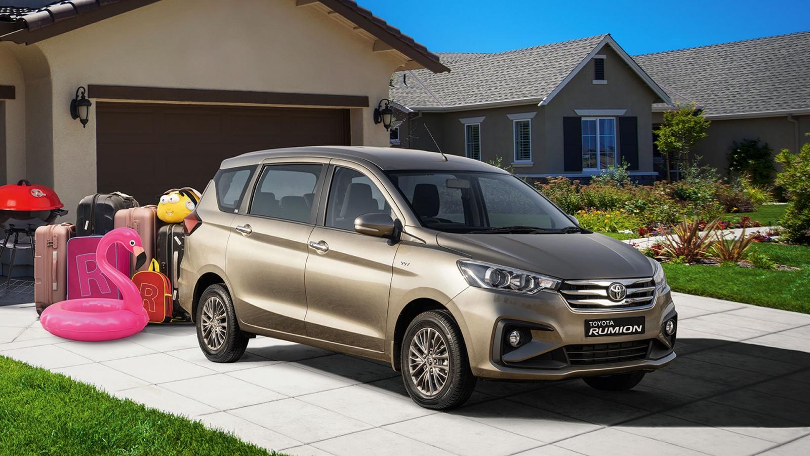 MPV mới của Toyota giống hệt Suzuki Ertiga