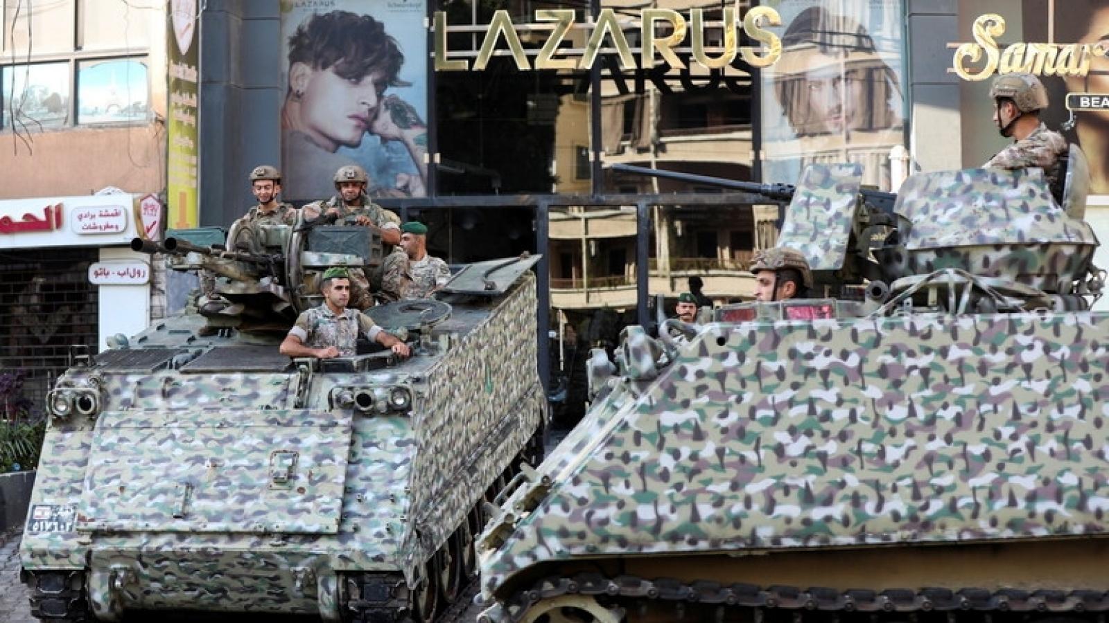 Lực lượng Hezbollah đe dọa đáp trả sau vụ đụng độ bạo lực ở Thủ đô Beirut
