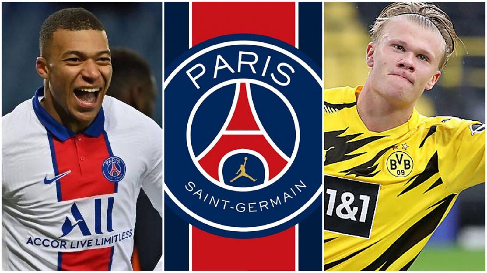 PSG lên kế hoạch mua Haaland thay Mbappe