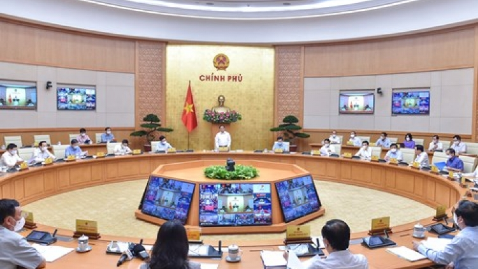 Nghị quyết phiên họp Chính phủ thường kỳ tháng 9/2021