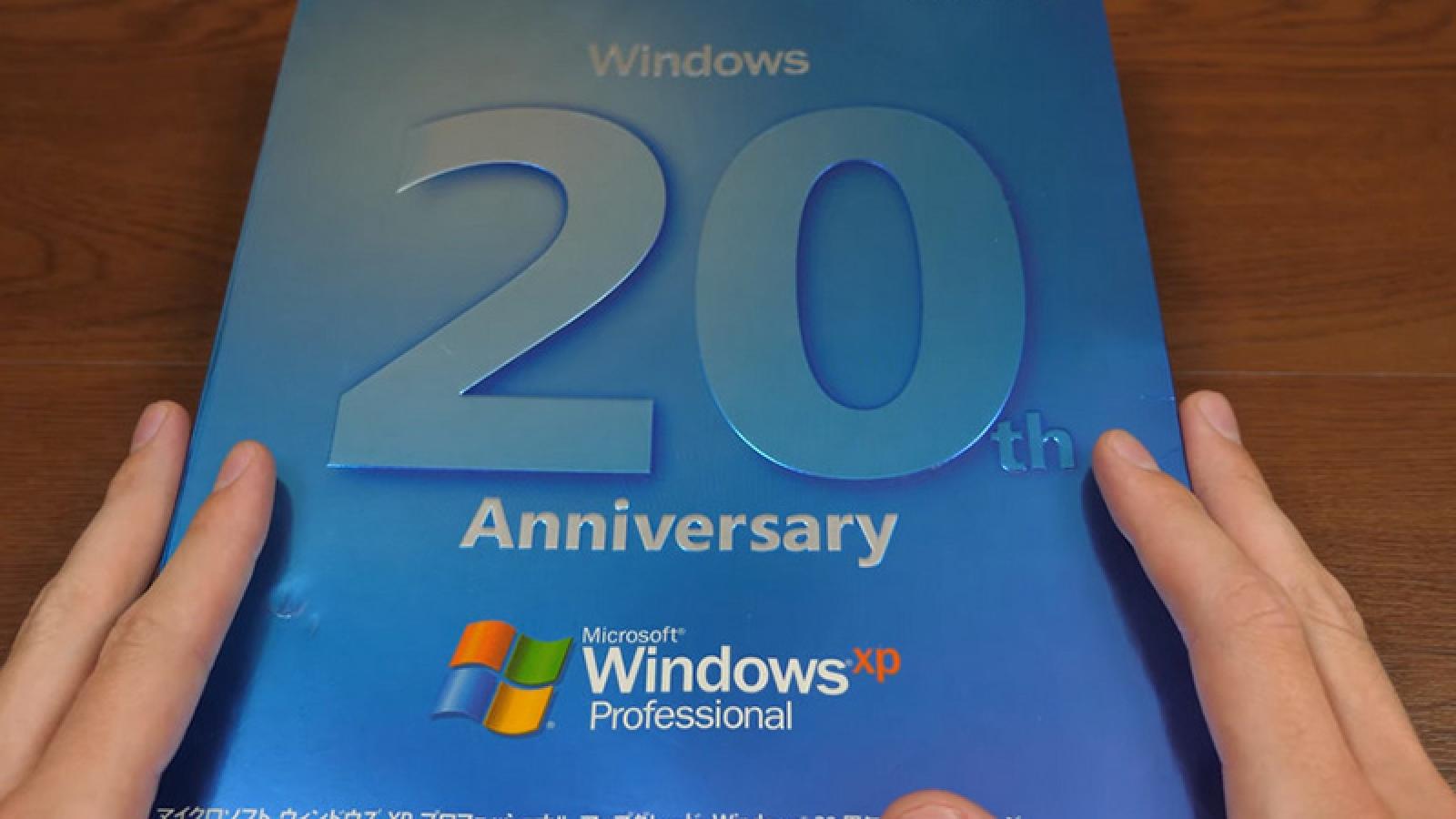 20 năm kể từ ngày ra mắt, 1% PC vẫn chạy Windows XP