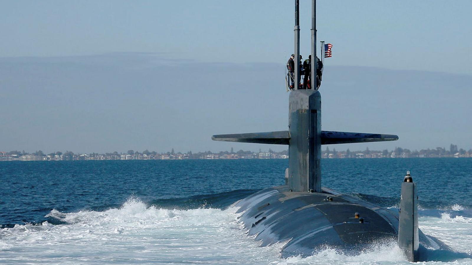 Tàu ngầm chạy bằng năng lượng hạt nhân của Australia sẽ được đóng tại Mỹ?