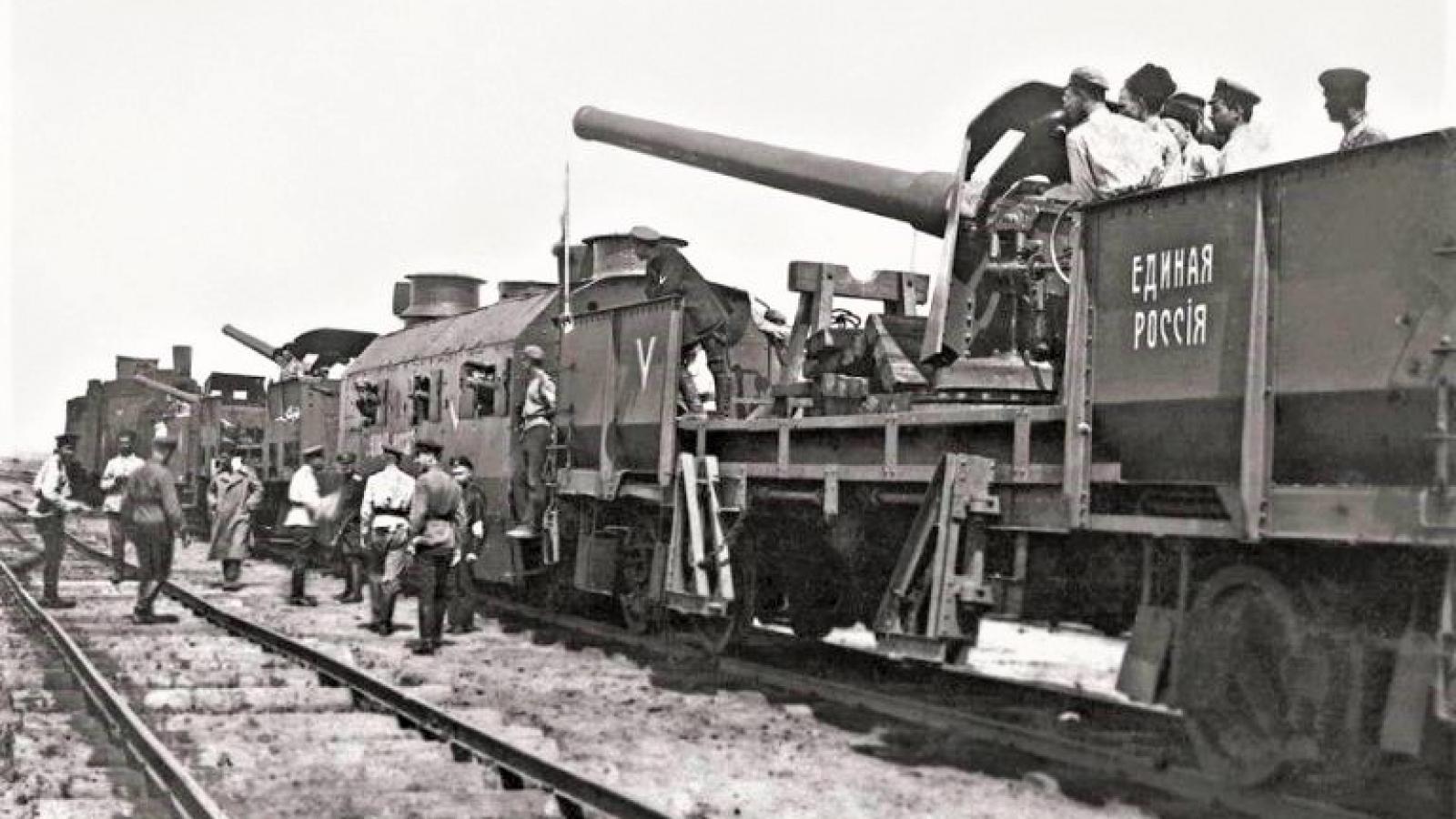 """Tàu hỏa bọc thép chưa hẳn là """"đồ bỏ"""", dù không có chỗ trong chiến tranh toàn diện hiện đại"""