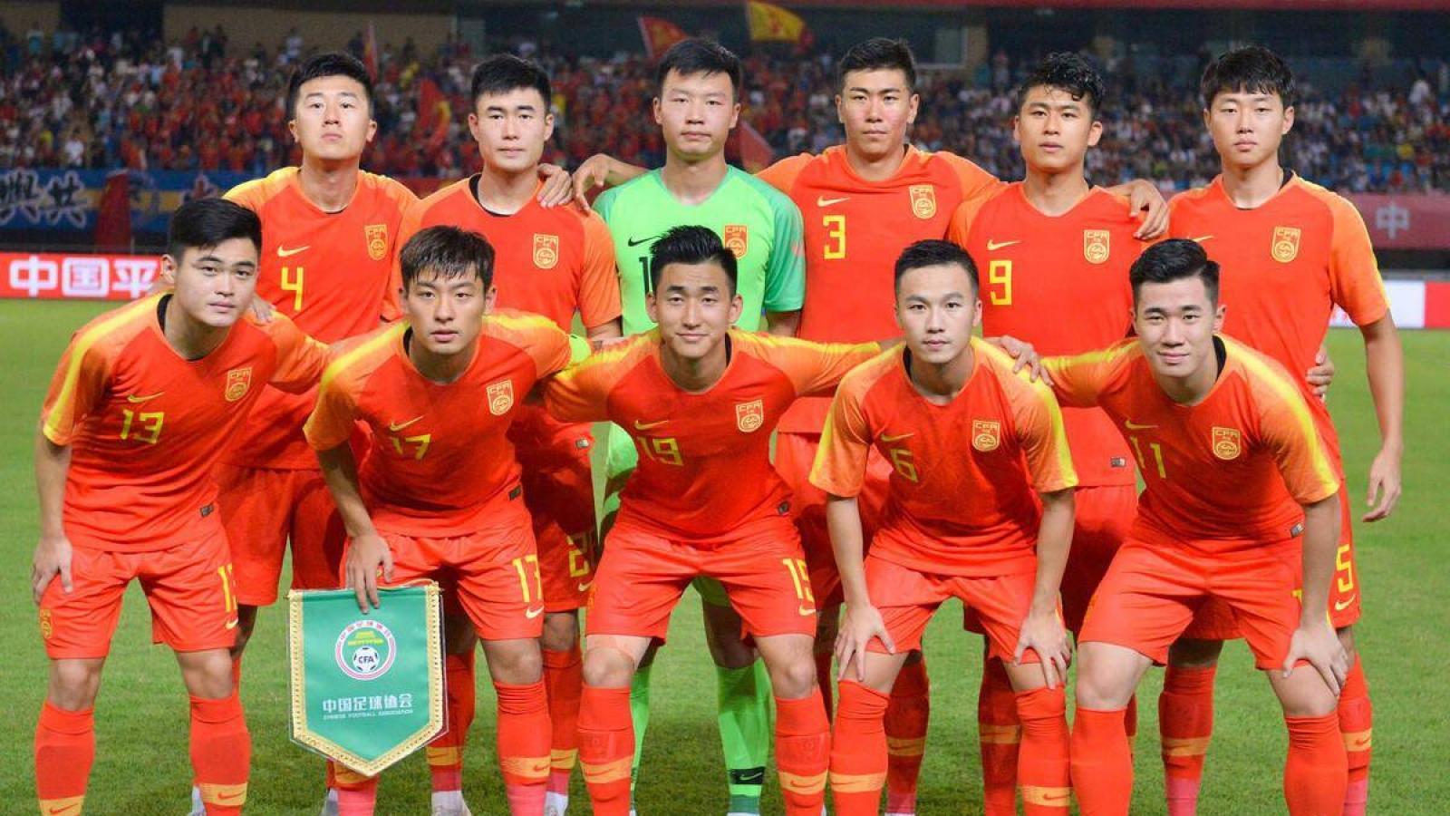U23 Trung Quốc rút lui khỏi giải U23 châu Á 2022