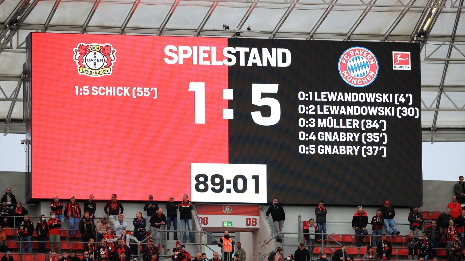 "Thắng ""hủy diệt"" Leverkusen, Bayern dẫn đầu Bundesliga"