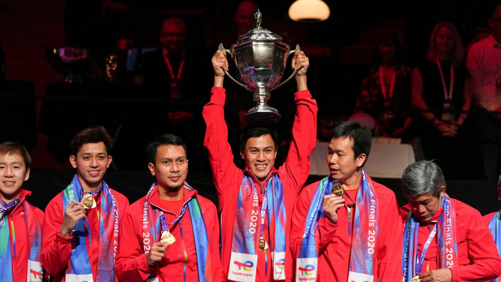 Trung Quốc thua Indonesia ở chung kết giải cầu lông Thomas Cup