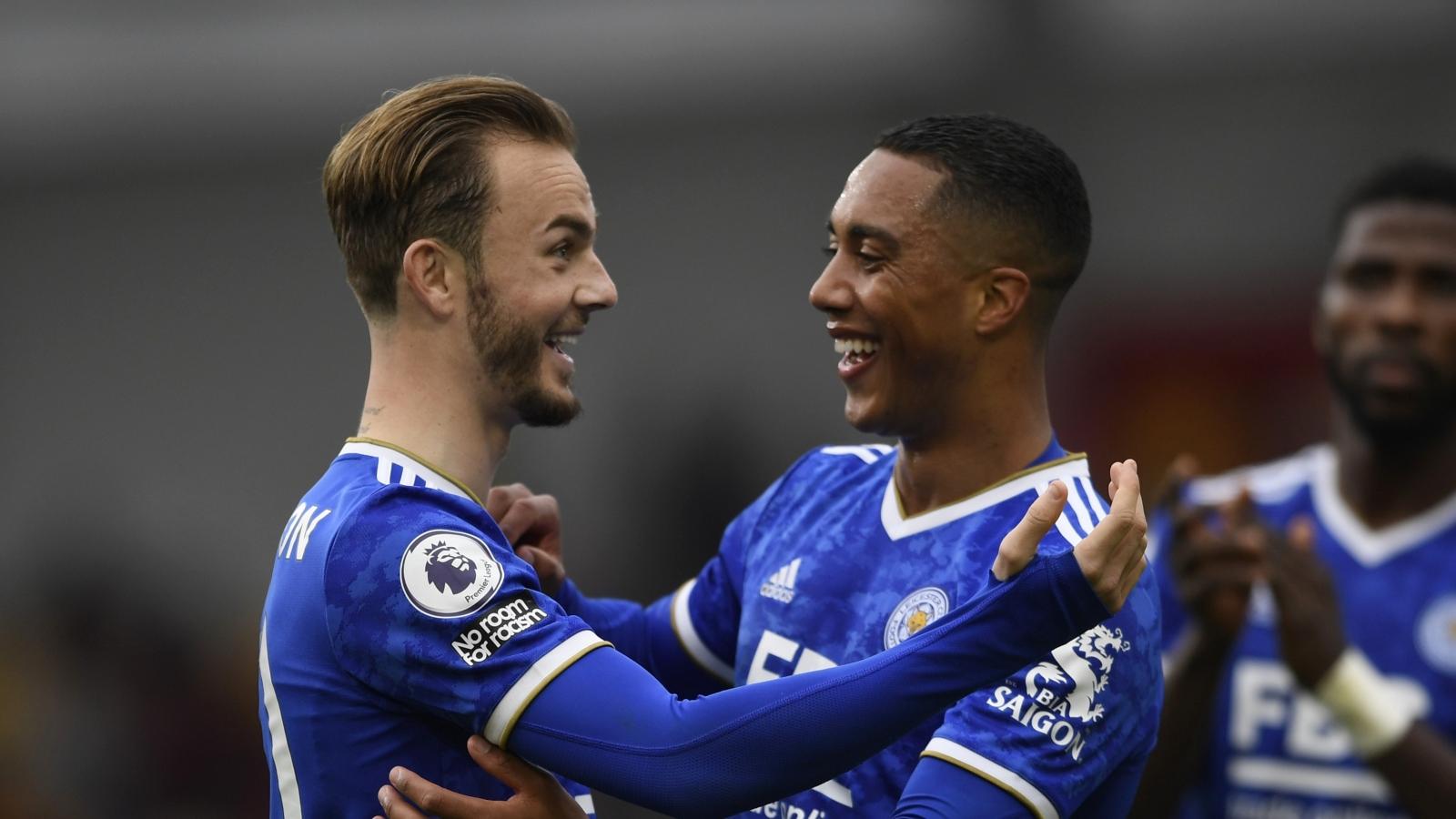 West Ham và Leicester tạo áp lực nghìn cân lên MU